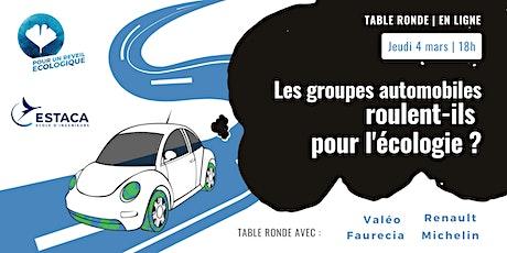 Les groupes automobiles français roulent-ils pour l'écologie billets