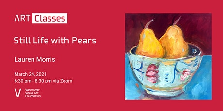 Still Life with Pears Art Class tickets