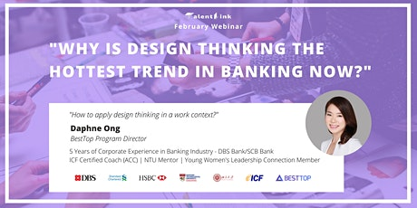 Design Thinking in Banking: The Hottest New Trend tickets