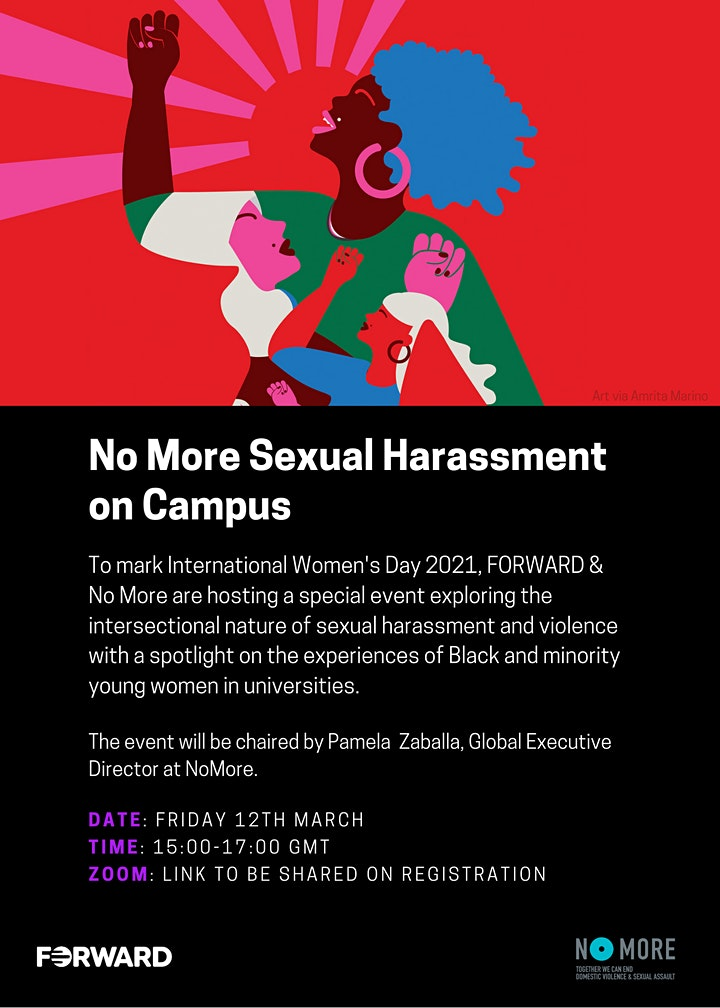 No More Sexual Harassment on Campus: Exploring Gaps in Services & Policies image