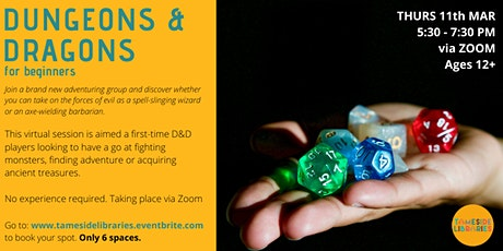 Dungeons & Dragons for beginners tickets