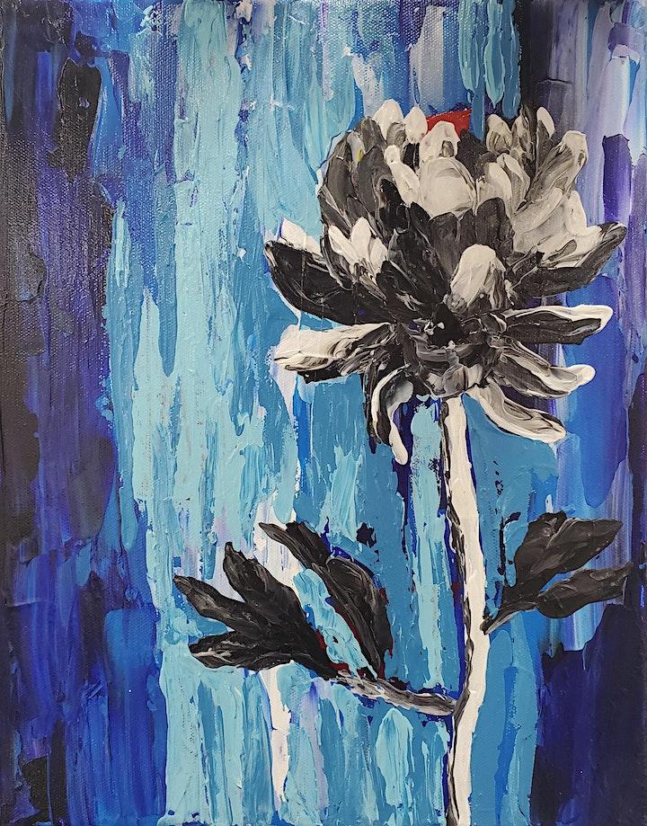 Garden Flower Art Class image