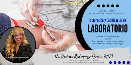 Webinar: Facturación y Codificación Médica de Laboratorio biglietti