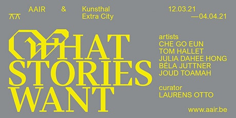 What Stories Want tickets