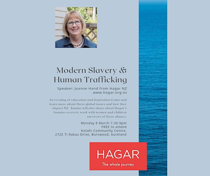 Modern Slavery and Human Trafficking image