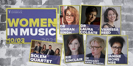 Panel Discussion - Janine Irons MBE and Keynote speakers -Women in Music tickets