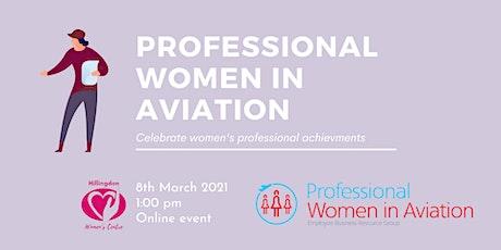 Professional women in aviation tickets
