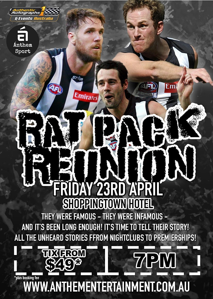 Rat Pack Reunion LIVE at Shoppingtown Hotel, Doncaster! image