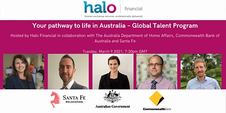 Your pathway to life in Australia – Global Talent Program tickets