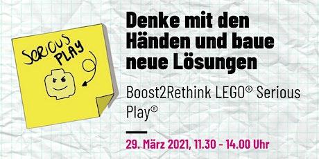 LEGO® Serious Play®  - Denke mit den Händen, baue neue Lösungen tickets