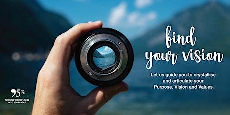 Find Your Vision Programme biglietti