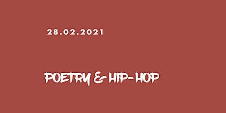Poetry & Hip-Hop - Livestream Tickets