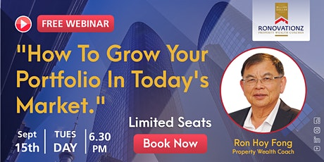 How To Grow Your Portfolio In Today's Market Webinar tickets