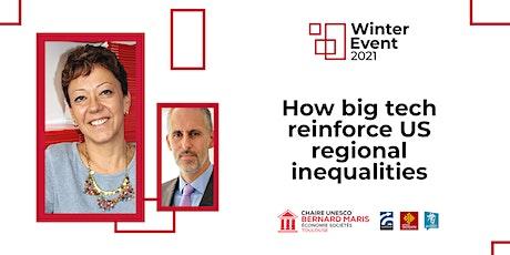 Winter Event 2021 #2 - How big tech reinforce US regional inequalities tickets
