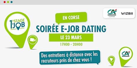 E-Job Dating Corse : décrochez un emploi dans votre région billets