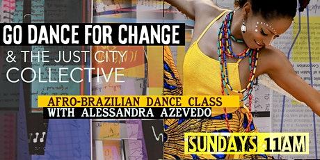 Presenting Afro-Brazilian dance movement tickets