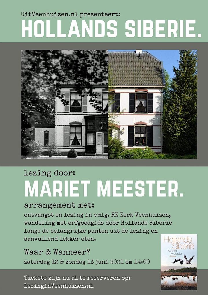 Afbeelding van Hollands Siberie lezing door Mariët Meester incl rondleiding met gids