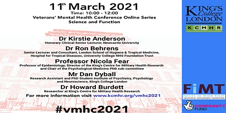 Veterans' Mental Health Conference - Science and Function tickets