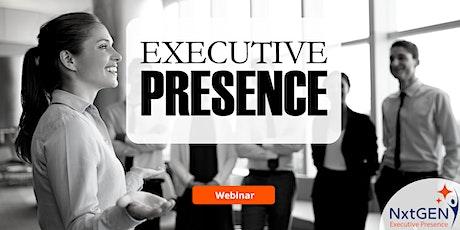 Enhancing Your Executive Presence tickets