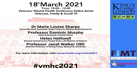 Veterans' Mental Health Conference - Veterans, Families and COVID tickets