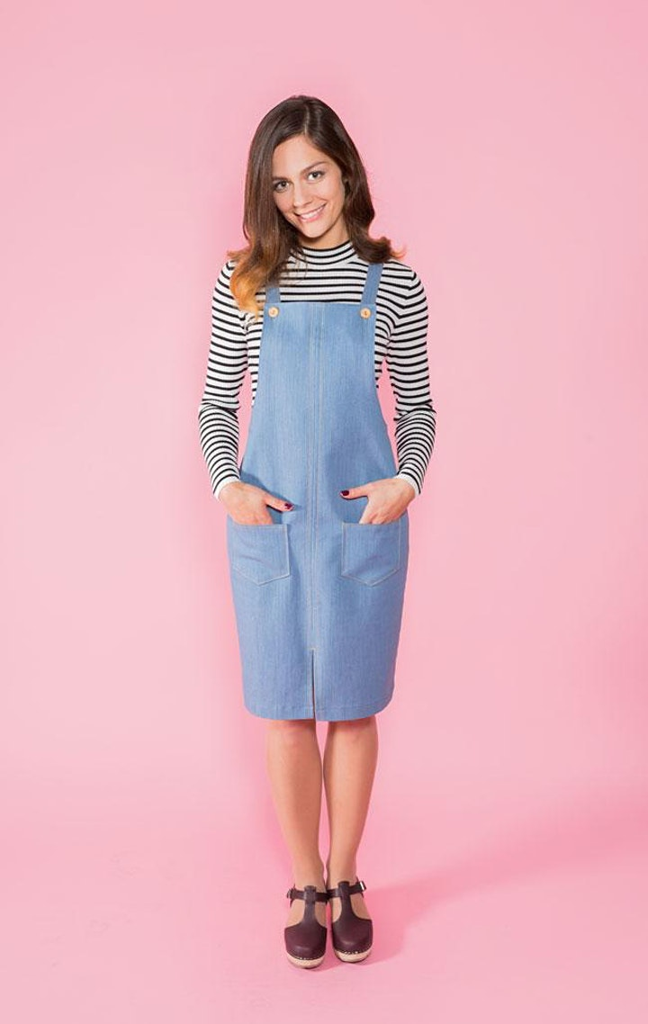 Make Your Own Pinafore Dress - Garment of the Month image