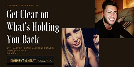 Ambitious People - Get Clear on What's Holding You Back (Online Workshop) tickets