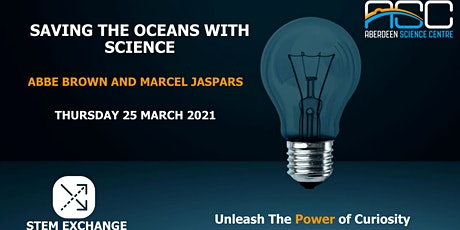 Saving the Oceans with Science: STEM Exchange tickets