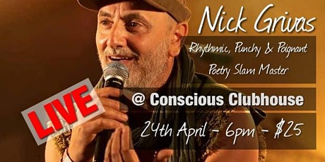 Nick Grivas - Poetry Slam Master tickets
