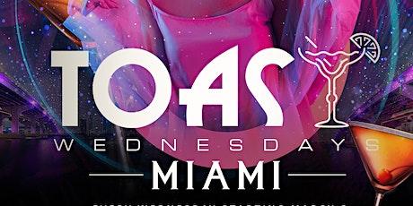Toast Wednesday's Miami tickets