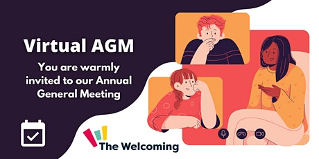 The Welcoming's AGM tickets