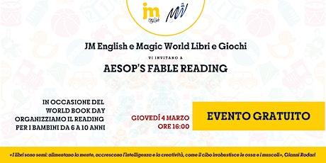 Aesop's Fable Reading biglietti