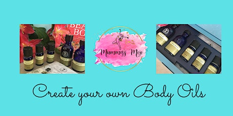 Create your own body oils Workshop tickets