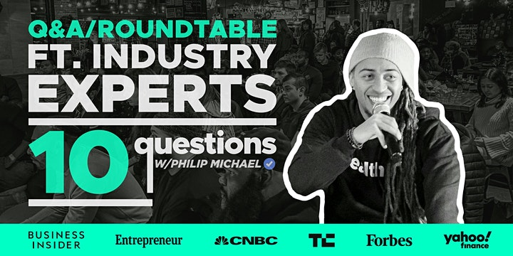 10 Questions With A #Boss: Live Speaker Series image