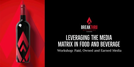 Leveraging the Media Matrix in Food and Beverage Tickets