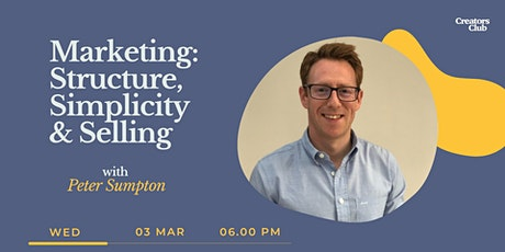 Marketing Workshop | Structure, Simplicity & Selling tickets