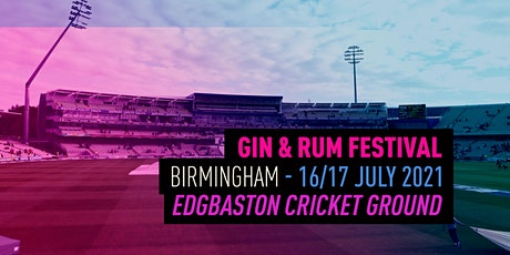 The Gin & Rum Festival - Birmingham - 2021 billets
