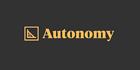 Autonomy UK - Julian Siravo tickets