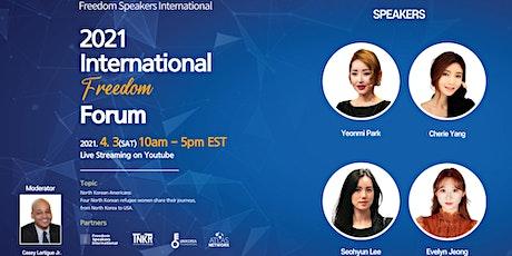 FSI's International Freedom Forum tickets