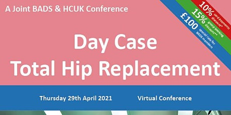 Day Case Total Hip Replacement tickets