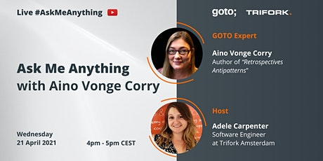 Live Ask Me Anything with Aino Vonge Corry tickets