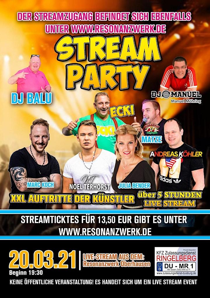 Schlager Live Stream Party mit Ecki und mehr: Bild