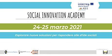 Social Innovation Academy - Progetto Asis biglietti