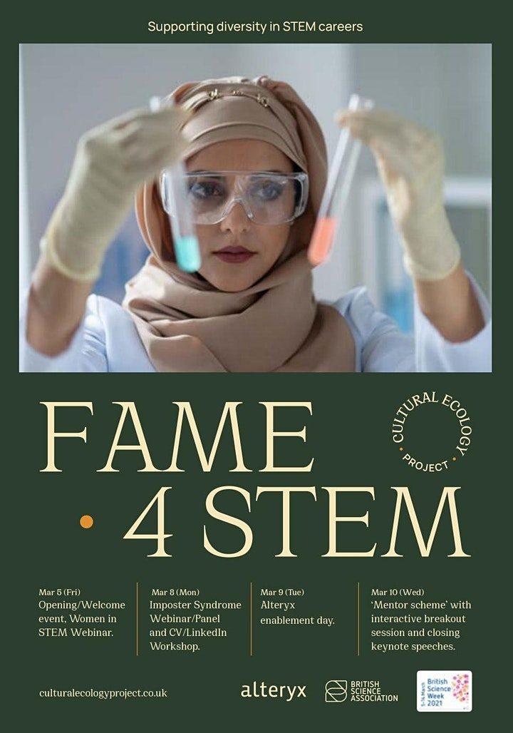 FAME 4 STEM (Virtual Conference) image