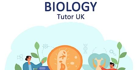 Biology GCSE Group Class (Virtual Event) tickets