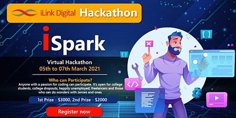 iLink Digital Hackathon - iSpark tickets