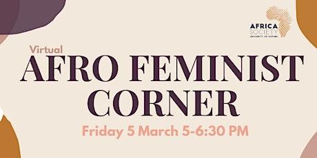 Oxford Africa Society Afrofeminist Corner tickets