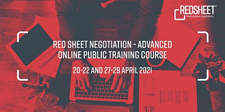 Online Red Sheet® Negotiation - Advanced Training Course tickets