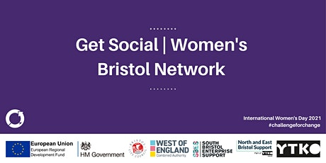 Get Social | Women's Bristol Network | International Women's Day tickets