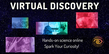 Virtual Discovery for Schools (3-6): Reactions tickets