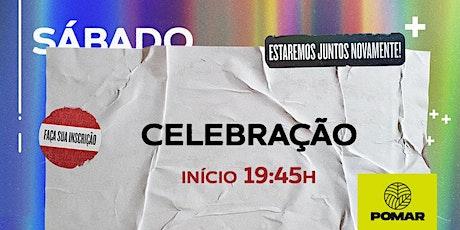 REUNIÃO DE CELEBRAÇÃO POMAR |27/fev às 19:45h ingressos